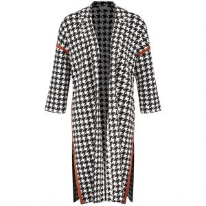 Gerry Weber Knitted Houndstooth Coat