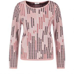 Gerry Weber Rose Pink Pattern Jumper